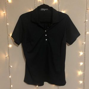 dri-fit black polo | Nike Golf
